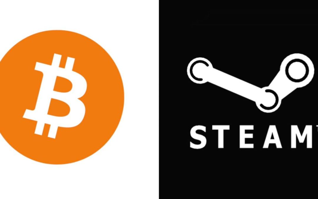 The First EVER Bitcoin Transaction Through Steam!
